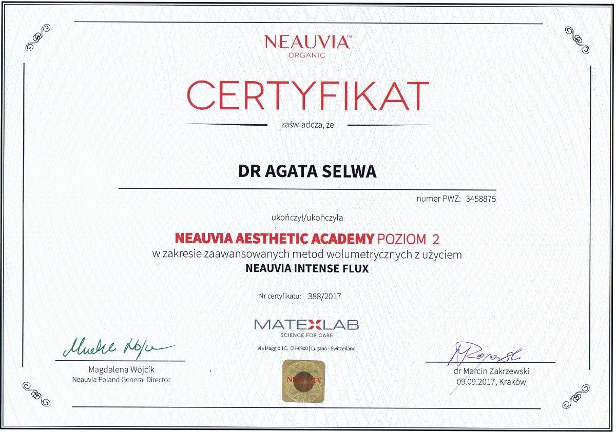 Neauvia szkolenie kwas hialuronowy dr agata selwa